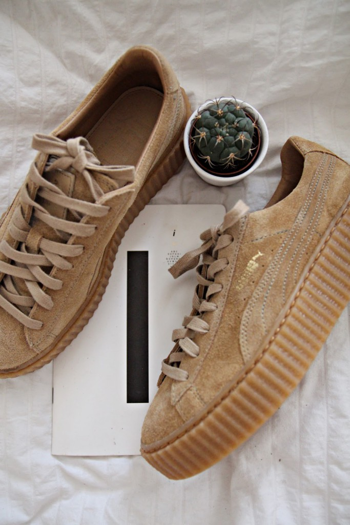 Puma Creepers Grau Fell